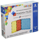 ToysTribe - Magna-Tiles Rectangles Expansion Set, 8 pieces