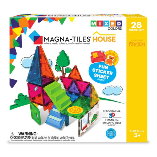 ToysTribe - Magna-Tiles House, 28 pieces