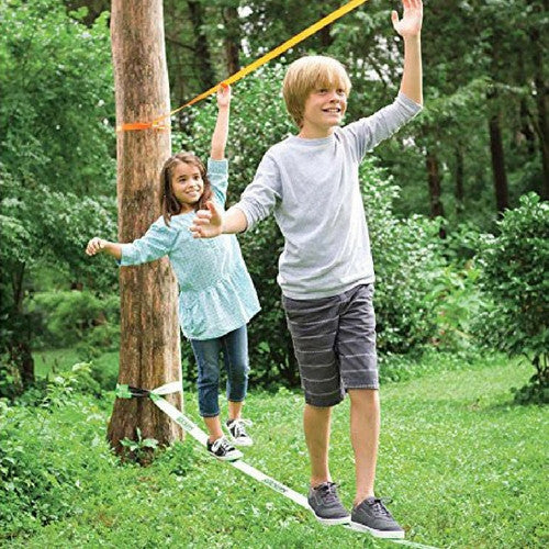 For Rent: Slackers Slackline Classic Set with Teaching Line | Toys Tribe Pte Ltd