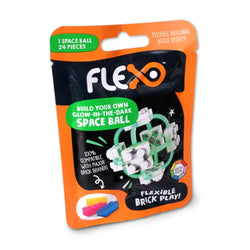 ToysTribe - Flexo Mini Build - Glow in Dark Spaceball