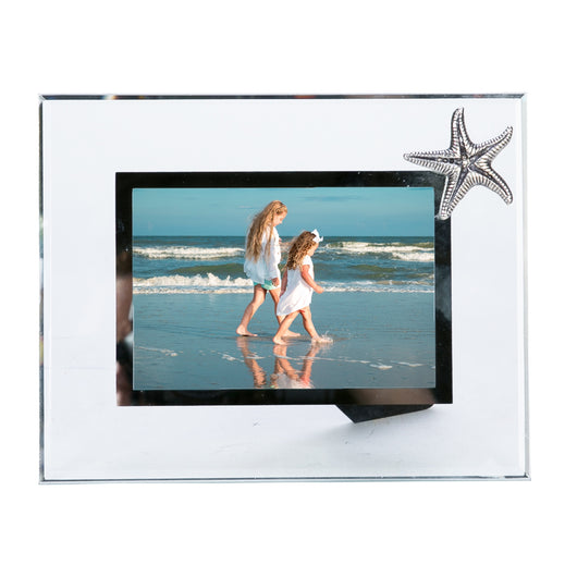 Glass Frame w/Starfish