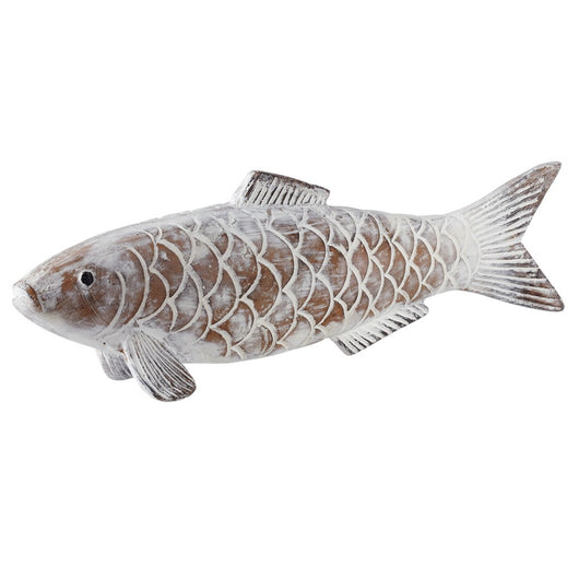 White Washed Fish with Scales