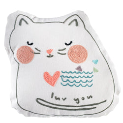 Love You - Cat Pillow