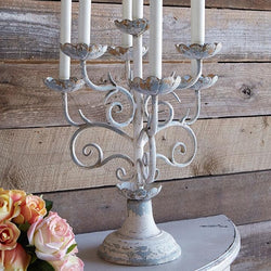 Distressed Candelabra