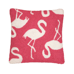 Beachy Flamingo Pillow