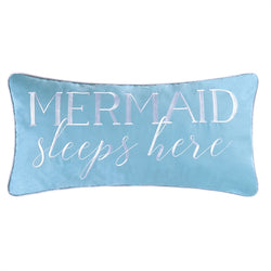 Mermaid Sleeps Here - Pillow
