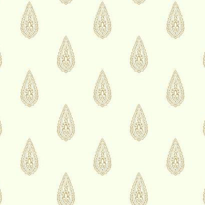 Luxury Teardrop Wallpaper by Antonina Vella Pattern #BH8326