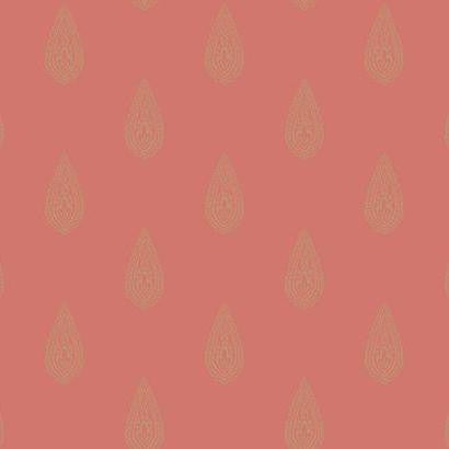 Luxury Teardrop Wallpaper by Antonina Vella Pattern #BH8328