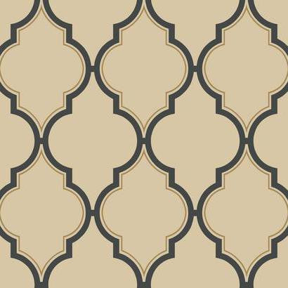 Luxury Trellis Wallpaper by Antonina Vella Pattern #BH8333