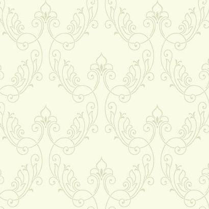 Stitched Ornamental Wallpaper by Antonina Vella Pattern #BH8373