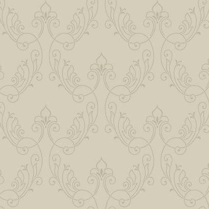 Royal Scrolll Wallpaper by Antonina Vella Pattern #BH8380