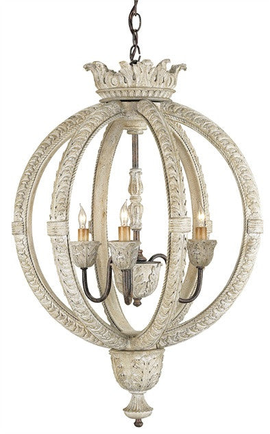Currey & Company Dauphin Small Chandelier