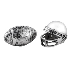 Football Helmet and Football Salt & Pepper Set