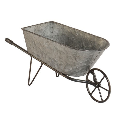 Tin Wheelbarrow