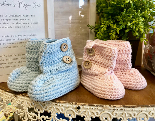 Made with Love Knit Booties