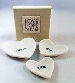 LOVE.. HOPE.. DREAM.. STACKABLES