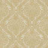 Tattersall Damask Wallpaper by Antonina Vella Pattern #MR643713