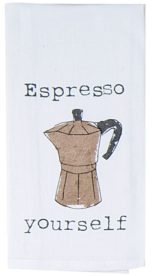 Espresso Kitchen Towel
