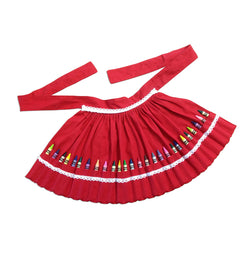 CRAYON APRON - RED