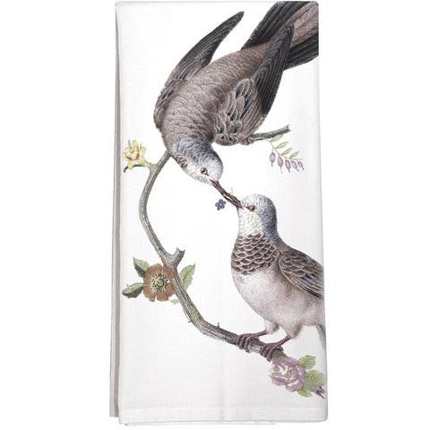 Love Birds Kitchen Towel