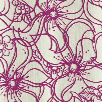 Whimsical Bloom Wallpaper by Stacy Garcia #ST6031