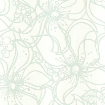 Whimsical Bloom Wallpaper by Stacy Garcia #ST6034