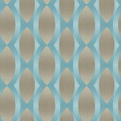 Geo Ombre Stripe Wallpaper by Stacy Garcia #ST6079