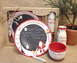 Santa Message Plate, 3-Piece set