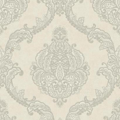 Chantilly Lace Wallpaper by Antonina Vella Pattern #WP-1149