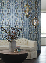 Kaleidoscope Wallpaper by Antonina Vella Pattern #BH8400