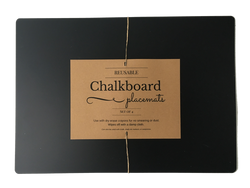 Classic Chalkboard Placemats Set of 4