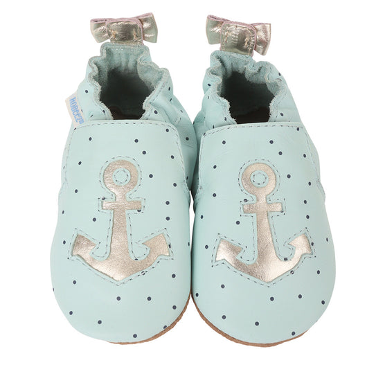 ANCHORS AWEIGH BABY SHOES