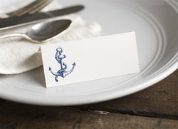 ANCHOR TENTED PLACECARDS