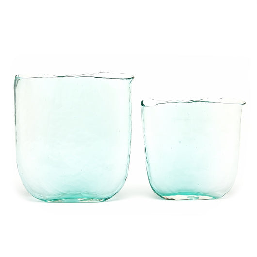 Aqua Vases Glass