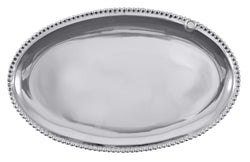 CHARMS BEADED OVAL PLATTER