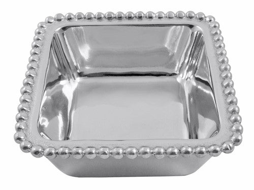 Charms Beaded Square Bowl