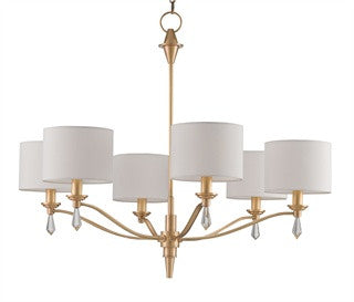 Currey & Company Bonnington Chandelier