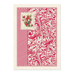 CANDY CANE KITCHEN TOWEL