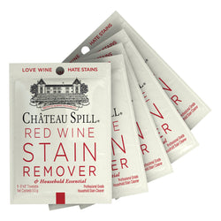 Chateau Spill Red Wine Stain Remover Wipes