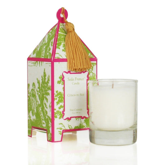 Citron du Sud Classic Toile Mini Boxed Candle
