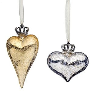 Crowned Heart Ornament
