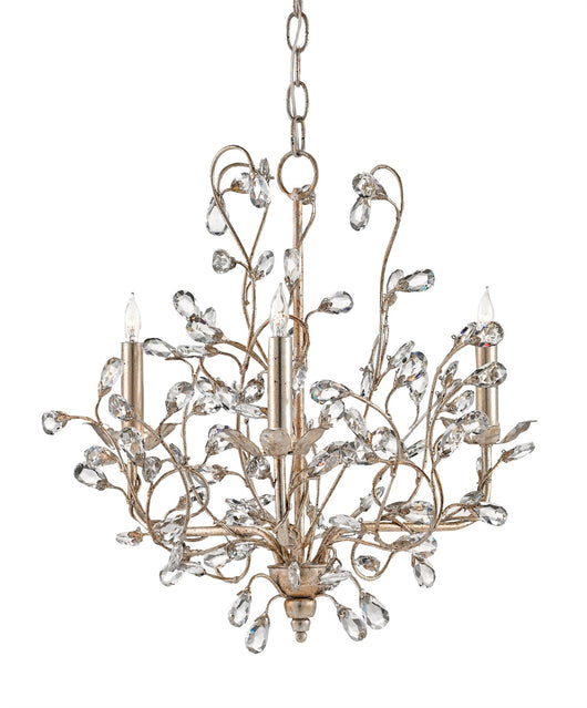 Currey & Company Crystal Bud Small Chandelier