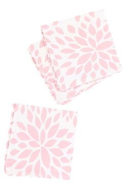 DAHLIA PINK CLOTH COCKTAIL NAPKIN