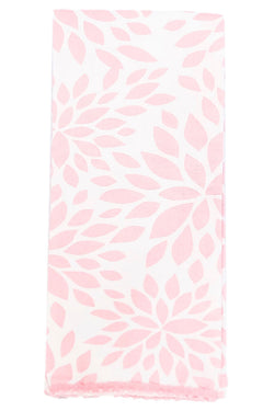Dahlia Blush Pink Cloth Guest Towel