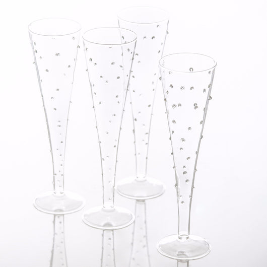 La Boheme Flutes with Dots