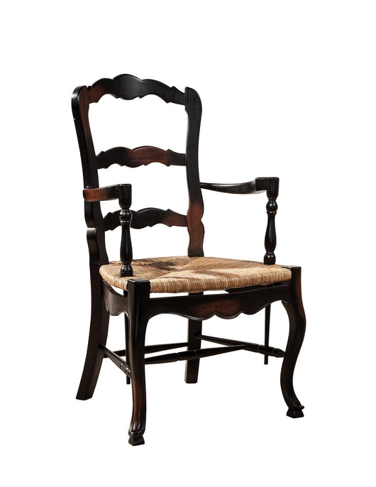 French Ladderback Arm Chair