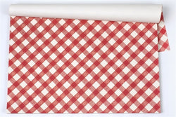 Italian Checkered Paper Placemats
