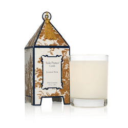 Jasmine Noir Classic Toile Bosed Pagoda Candle