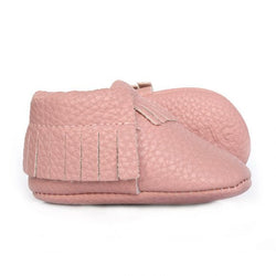 Just Blush Baby Moccasins