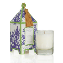 Lavande Provencale Classic Toile Boxed Pagoda Candle